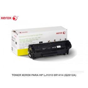 TONER XEROX PARA HP LJ1010 6R1414 (Q2612A)