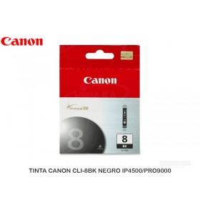 TINTA CANON CLI-8BK NEGRO IP4500/PRO9000