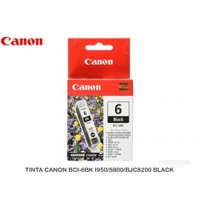 TINTA CANON BCI-6BK I950/S800/BJC8200 BLACK