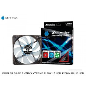 COOLER CASE ANTRYX XTREME FLOW 15 LED 120MM BLUE LED