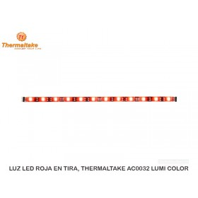 LUZ LED ROJA EN TIRA, THERMALTAKE AC0032 LUMI COLOR
