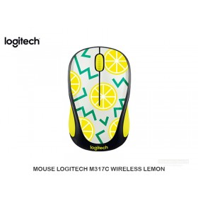 MOUSE LOGITECH M317C WIRELESS LEMON