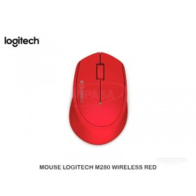 MOUSE LOGITECH M280 WIRELESS RED