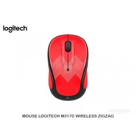 MOUSE LOGITECH M317C WIRELESS ZIGZAG