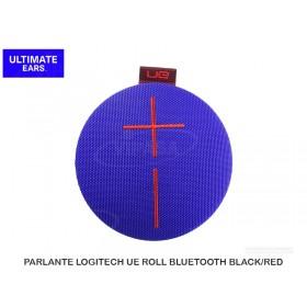 PARLANTE LOGITECH UE ROLL BLUETOOTH BLUE/RED