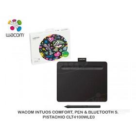 WACOM INTUOS COMFORT, PEN & BLUETOOTH S. BLACK CLT4100WLK0