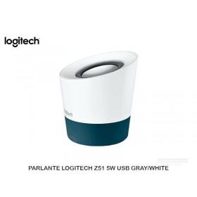 PARLANTE LOGITECH Z51 5W USB GRAY/WHITE