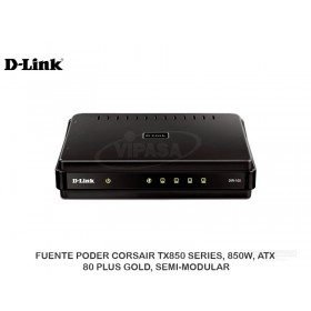 ROUTHER D-LINK CABLE/DSL + 4 PUERTOS 10/100 DIR-100