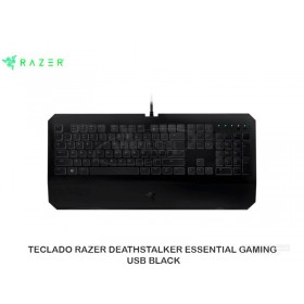 TECLADO RAZER DEATHSTALKER ESSENTIAL GAMING USB BLACK