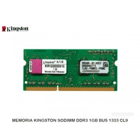 MEMORIA KINGSTON SODIMM DDR3 1GB BUS 1333 CL9