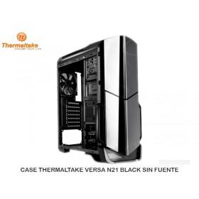 CASE THERMALTAKE VERSA N21 BLACK SIN FUENTE