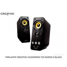 PARLANTE CREATIVE GIGAWORKS T20 SERIES II BLACK