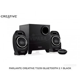 PARLANTE CREATIVE T3250 BLUETOOTH 2.1 BLACK