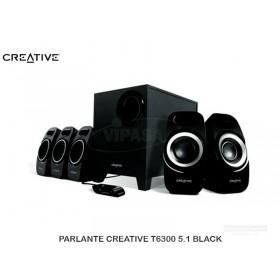 PARLANTE CREATIVE T6300 5.1 BLACK