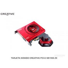 TARJETA SONIDO CREATIVE PCI-E SB1506 ZX