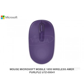 MOUSE MICROSOFT MOBILE 1850 WIRELESS AMER PURLPLE U7Z-00041