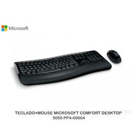 TECLADO+MOUSE MICROSOFT COMFORT DESKTOP 5050 PP4-00004