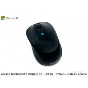 MOUSE MICROSOFT MOBILE SCULPT BLUETRACK USB 43U-00001