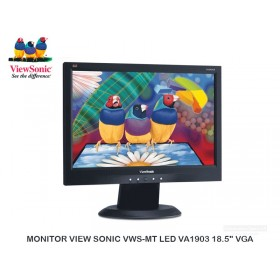 "MONITOR VIEW SONIC VWS-MT LED VA1903 18.5"" VGA"