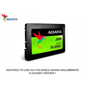DISCO DURO SOLIDO A-DATA SSD SU650 240GB 2.5IN 3D NAND