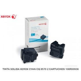 TINTA SOLIDA XEROX CYAN CQ 8570 2 CARTUCHOS 108R00936