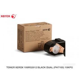 TONET XEROX 106R02612 BLACK DUAL (PH7100) 10KPG