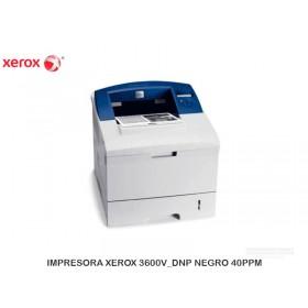 IMPRESORA XEROX 3600V_DNP NEGRO 40PPM