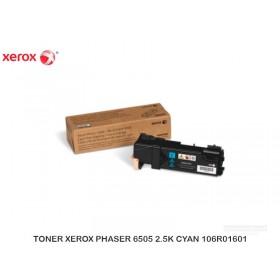 TONER XEROX PHASER 6505 2.5K CYAN 106R01601