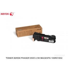 TONER XEROX PHASER 6505 2.5K MAGENTA 106R01602
