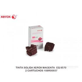 TINTA SOLIDA XEROX MAGENTA CQ 8570 2 CARTUCHOS 108R00937