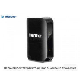 MEDIA BRIDGE TRENDNET AC 1200 DUAN BAND TEW-800MB