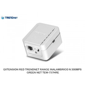 EXTENSION RED TRENDNET RANGE INALAMBRICO N 300MPS GREEN NET TEW-737HRE