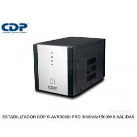 ESTABILIZADOR CDP R-AVR3008I PRO 3000VA/1500W 8 SALIDAS