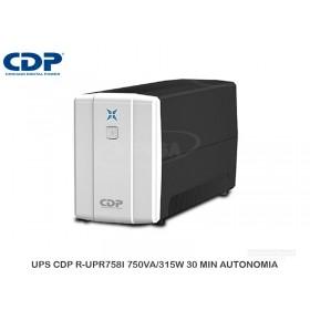 UPS CDP R-UPR758I 750VA/315W 30 MIN AUTONOMIA