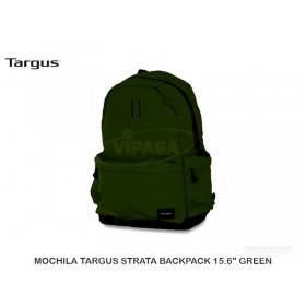 "MOCHILA TARGUS STRATA BACKPACK 15.6"" GREEN"