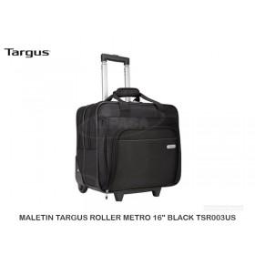 """MALETIN TARGUS ROLLER NETRO 16"""" BLACK TSR003US"""