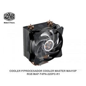 COOLER P/PROCESADOR COOLER MASTER MA410P RGB MAP-T4PN-220PC-R1