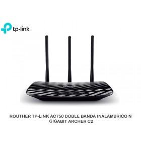 ROUTHER TP-LINK AC750 DOBLE BANDA INALAMBRICO N GIGABIT ARCHER C2