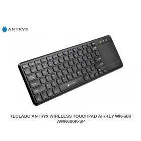 TECLADO ANTRYX WIRELESS TOUCHPAD AIRKEY WK-600 AWK600K-SP