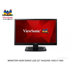 "MONITOR VIEW SONIC LED 22"" VA2249S 1920 X 1080"