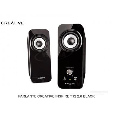PARLANTE CREATIVE INSPIRE T12 2.0 BLACK