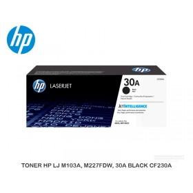 TONER HP LJ M103A, M227FDW, 30A BLACK CF230A