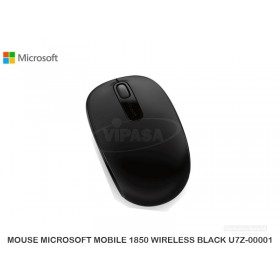 MOUSE MICROSOFT MOBILE 1850 WIRELESS BLACK U7Z-00001