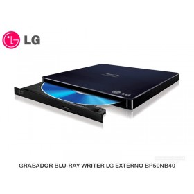 GRABADOR BLU-RAY WRITER LG EXTERNO BP50NB40