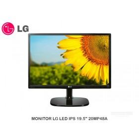 """MONITOR LG LED IPS 19.5"""" 20MP48A"""