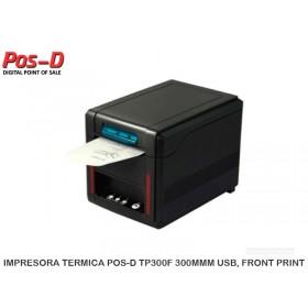 IMPRESORA TERMICA POS-D TP300F 300MMM USB, FRONT PRINT