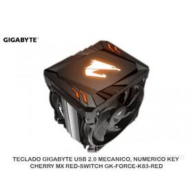 COOLER P/PROCESADOR GIGABYTE RGB FAN12V DC SKT AMD/INTEL GT-ATC700