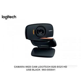 CAMARA WEB CAM LOGITECH B2B B525 HD USB BLACK  960-000841