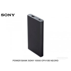 POWER BANK SONY 10000 CPV10B NEGRO