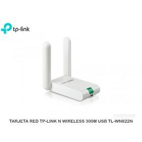 TARJETA RED TP-LINK N WIRELESS 300M USB TL-WN822N